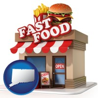 ct a fast food restaurant