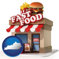 kentucky a fast food restaurant
