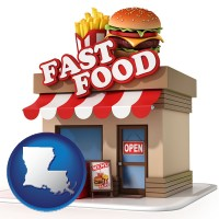 louisiana a fast food restaurant