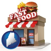 maine a fast food restaurant