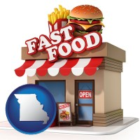 missouri a fast food restaurant