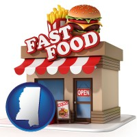 mississippi a fast food restaurant