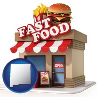nm a fast food restaurant