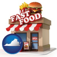 virginia a fast food restaurant