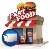 washington a fast food restaurant